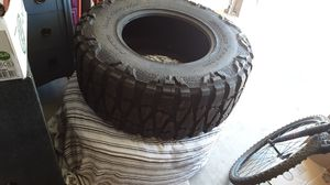 Set of Two brand new 40 inch Nitro mud Grapplers rim size is 20 for Sale in Florence, CO