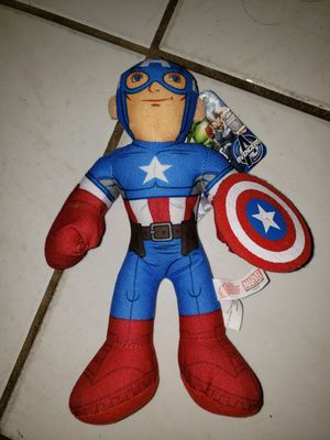 Captain America plush toy for Sale in Miami, FL