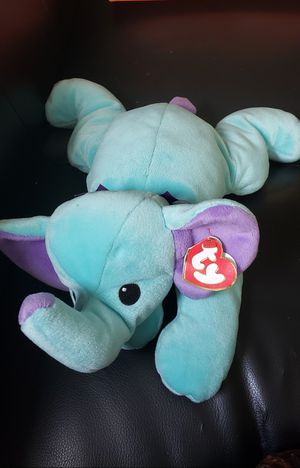 TY Pillow Pal - 1998 SOFT SQUIRT the ELEPHANT Stuffed Animal - RETIRED for Sale in Rosedale, MD
