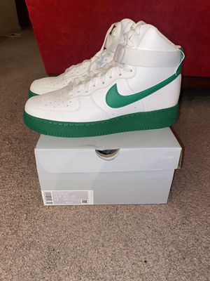 """Air Force 1 HI """"White/Green"""" sz 10.5 for Sale in Decatur, GA"""