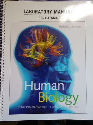 Laboratory Manual for Human Biology: Concepts and Current Issues (8th Edition) 8th Edition for Sale in Orange Cove, CA