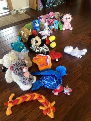 Miscellaneous stuffed animals for Sale in Sumner, WA