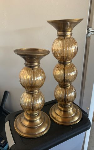Glass candle holders for Sale in Whittier, CA