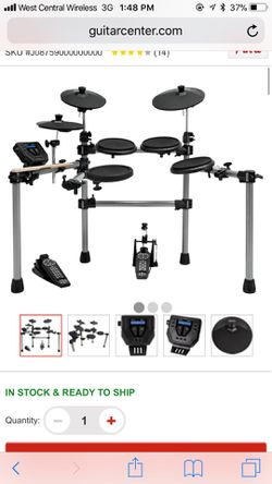 Simmons sd5 x electronic drum kit for Sale in Grape Creek,  TX