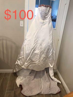 Wedding Dress size 10 for Sale in San Bernardino, CA
