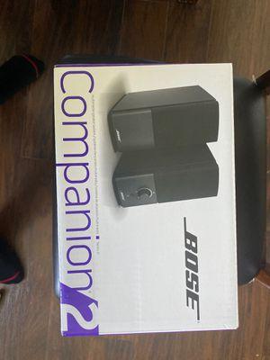 Bose companion tv/ monitor speakers for Sale in Costa Mesa, CA