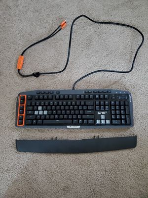 Logitech g710+ gaming keyboard for Sale in Torrance, CA