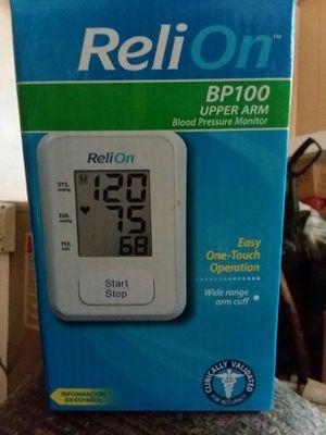 Relion blood pressure monitor for Sale in Lake City, MI
