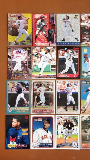 Baseball Cards - Manny Ramirez for Sale in Noblesville, IN