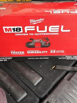 NEW Milwaukee M18 FUEL 18-Volt Lithium-Ion Brushless Cordless Deep Cut Band Saw (Tool Only) for Sale in Staten Island,  NY