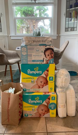 Diapers Size 1 for Sale in Tacoma, WA