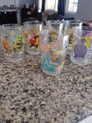 Disney collections glass set for Sale in Tustin, CA