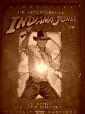 Dvd indiana Jones complete edition for Sale in Columbus, OH