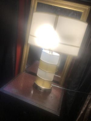 Nice decor lamps has extra sockets for alarm clocks chargers etc for Sale in Cleveland, OH