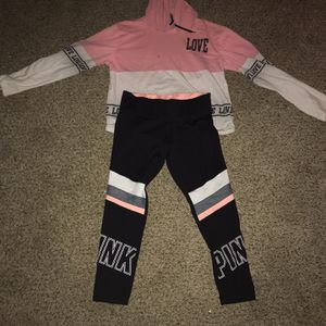 Pink Leggings And Love Hoodie for Sale in Eastlake, OH