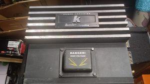 Old School Kole Audio Amplifier for Sale in Austin, TX