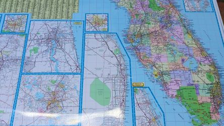 """Dolph's Florida Map 60"""" for Sale in Pompano Beach,  FL"""