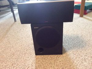 Sony 10 inch Subwoofer with Polk Midrange Speaker for Sale in Shelby Charter Township, MI