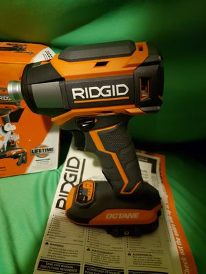 RIDGID OCTANE BRUSHLESS IMPACT DRIVE for Sale in Beaumont, CA