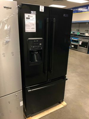 "..!New! maytag black 33"" wide french door refrigerator fridge 🌉 for Sale in Chandler, AZ"