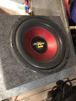 """12"""" sound xtreme subwoofer for Sale in Antioch, CA"""