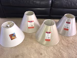 NEW UNUSED Various Lamp Shades-Med Size for Sale in Kapolei, HI