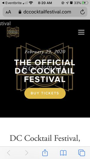 DC Cocktail Festival for Sale in Washington, DC