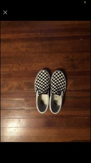 Women's checkered vans for Sale in Canandaigua, NY