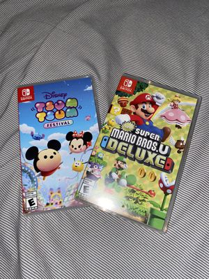 Switch games for Sale in Garden Grove, CA