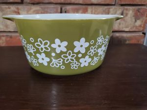 Vintage Pyrex SPRING BLOSSOM CRAZY DAISY Casserole 1QT, 473 for Sale in Lewisville, TX