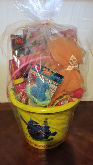 Trolls easter basket for Sale in Cedar Hill, TX