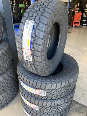 285/70/17 New set of Falken AT tires installed for Sale in Ontario, CA