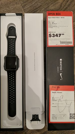 Apple watch Nike and Series 3 for Sale in Raleigh, NC