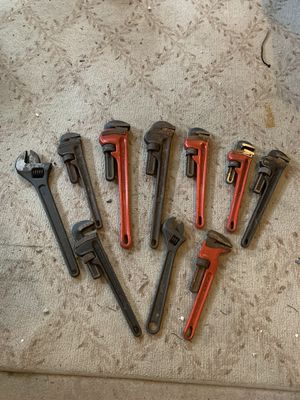 10 plumbers wrenches for Sale in Middletown, NJ