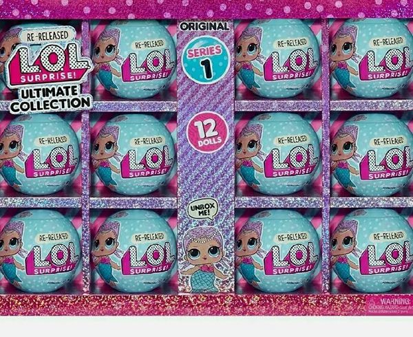 LOL Surprise Merbaby Series 1 Ultimate Collection 12 Re-released Dolls Untouched