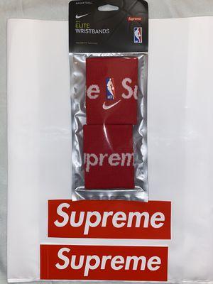Supreme Nike Elite Wristband for Sale in Houston, TX