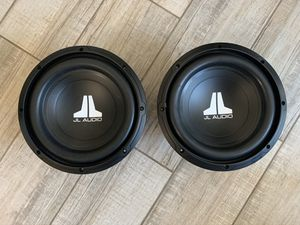 "Two 10"" JL Audio 10W0v3-4 subwoofers for Sale in Phoenix, AZ"