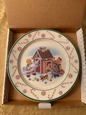 Longaberger pottery holiday plate for Sale in Southbury, CT