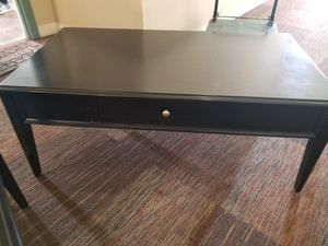 Quality, Modern Black Living Room Tables - Set of 3 for Sale in Los Angeles, CA