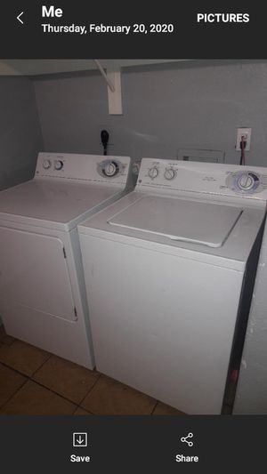 Washer and dryer ge for Sale in San Antonio, TX