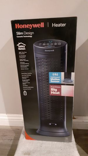 "Honeywell 23"" Tall Digital Slim Tower Heater with Remote Brand New (Price is Firm) for Sale in Gardena, CA"