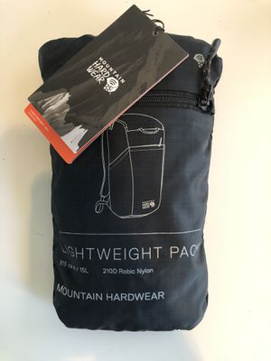 Mountain hardware lightweight packable backpack for Sale in Tempe, AZ
