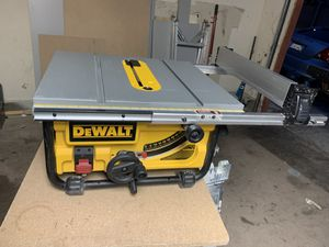 Dealt portable table saw for Sale in Las Vegas, NV
