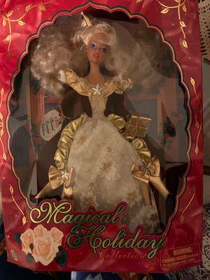 Magical Holiday Collection Barbie 1998 for Sale in Theodore, AL