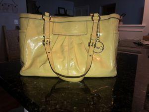 Yellow Coach Purse for Sale in Arlington, VA