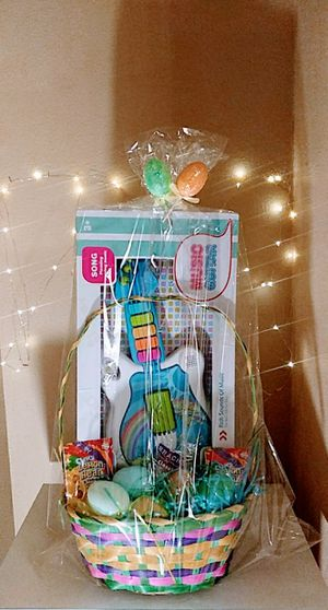 Boys or Girls Easter Basket Filled with Candy & A Guitar for Boy or Baby Doll for Girl - NEW for Sale in Murrieta, CA