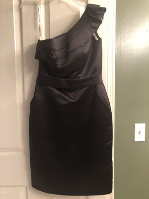 Black dress (formal for wedding, homecoming, prom, etc.) for Sale in North Ridgeville, OH