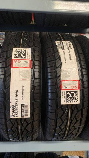 New tires LT235-75R15 Ohtsu tires for Sale in Raleigh, NC