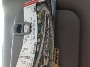 4 dega tickets for Saturday for Sale in Odenville, AL