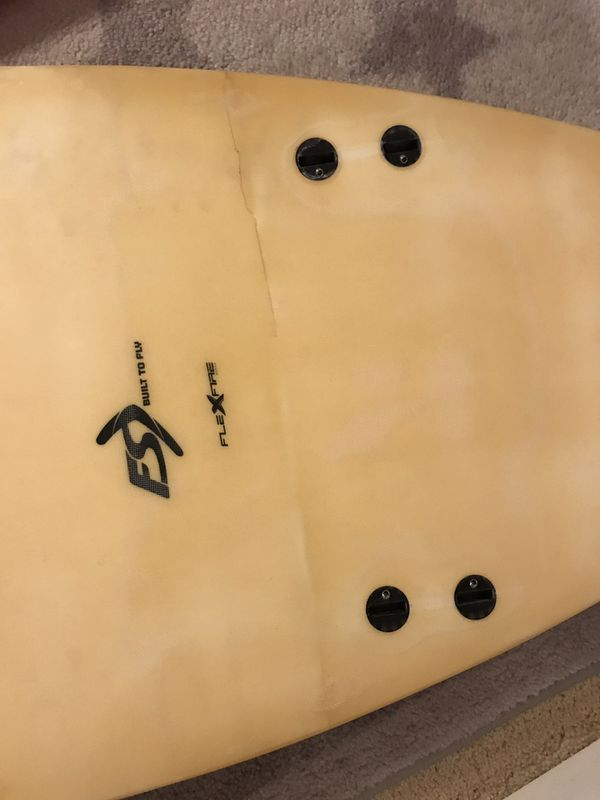 """Surfboard in good shape viking5'10"""" & FireWire 5'8"""" FireWire had a crack before now it's fixed $300 two boards"""